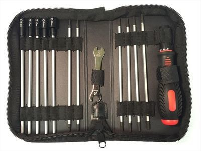 LOGIC RC Tool Set (19 tools in zipped wallet)
