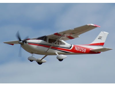 ART-TECH Cessna 182 500 EPOFLEXY Brushless Trainer Plane Plug and Play PNP click to zoom image
