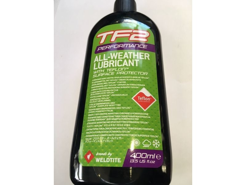 WELDTITE TF2 Performance All-Weather Lubricant with Teflon� (400ml) click to zoom image