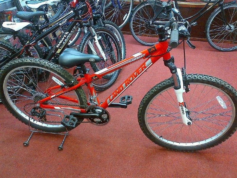 LAND ROVER BIKES Experience Comp Mtb (Ex Hire) click to zoom image