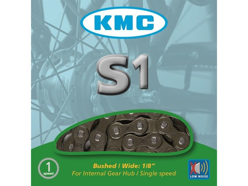 "KMC S1 Single Speed 1/2"" x 1/8"" - 112 Links click to zoom image"