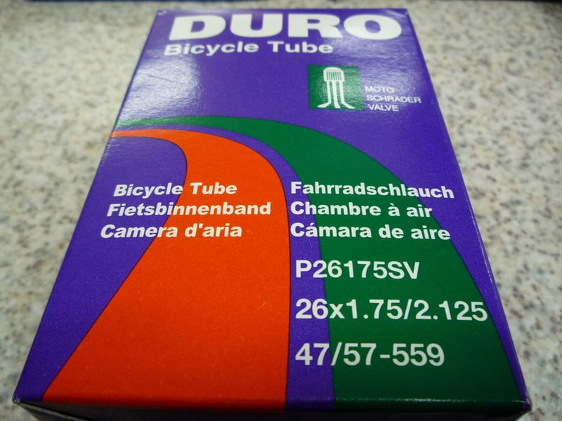 DURO 26x1.75/2.125 sch inner tube click to zoom image