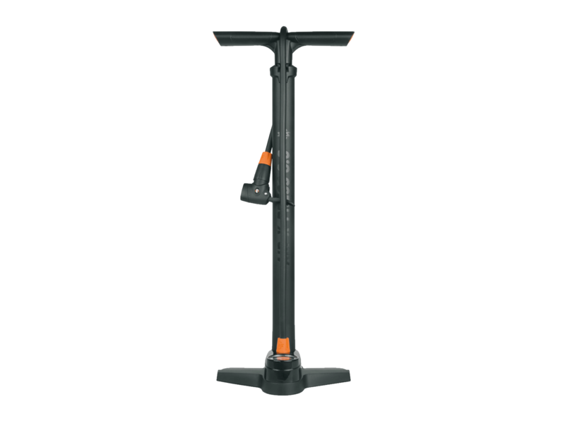 SKS AIR-X-PRESS 8.0 Floor Pump with Guage Dual Valve click to zoom image