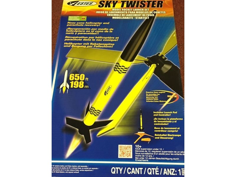 ESTES Sky Twister Launch Set click to zoom image