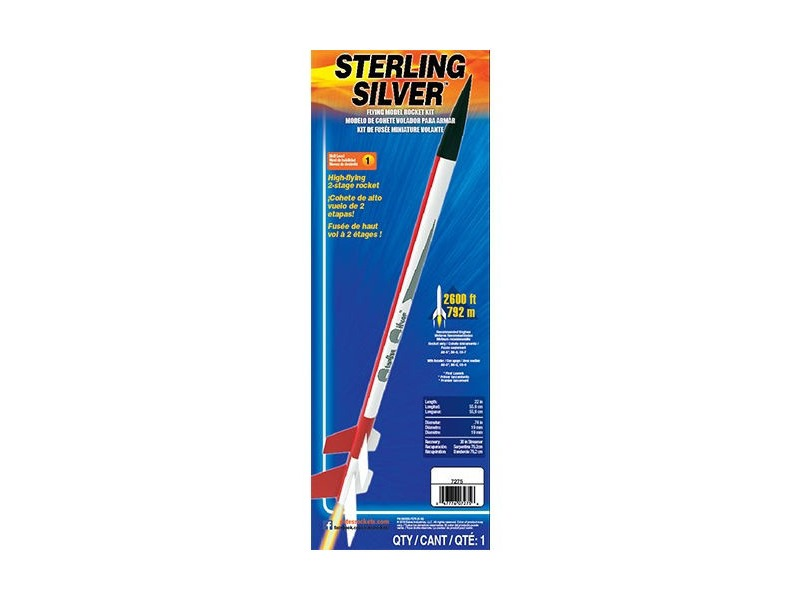 ESTES Sterling Silver (2 stage) - Skill Level 1 click to zoom image