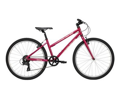 "PYTHON BIKES 26"" ELITE GIRLS 26in Wheel, 14in Frame Hot Pink  click to zoom image"