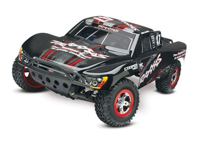 TRAXXAS Slash XL-5 1/10 2WD (TQ/8.4V/DC Chg) 1/10 2WD SC Mike Jenkins Black  click to zoom image