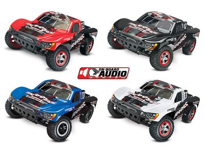 TRAXXAS Slash 1/10 2WD ON BOARD AUDIO w/XL-5 Mike Jenkins Ed