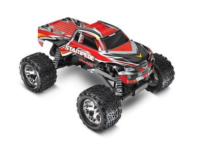 TRAXXAS Stampede XL-5 2WD (TQ/8.4V/DC Chg)  click to zoom image