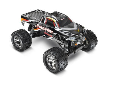 TRAXXAS Stampede XL-5 2WD (TQ/8.4V/DC Chg) 1/10TH SCALE Black  click to zoom image