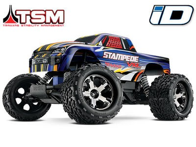 TRAXXAS Stampede VXL Brushless 2WD TSM (TQi/8.4V/DC Chg)  click to zoom image