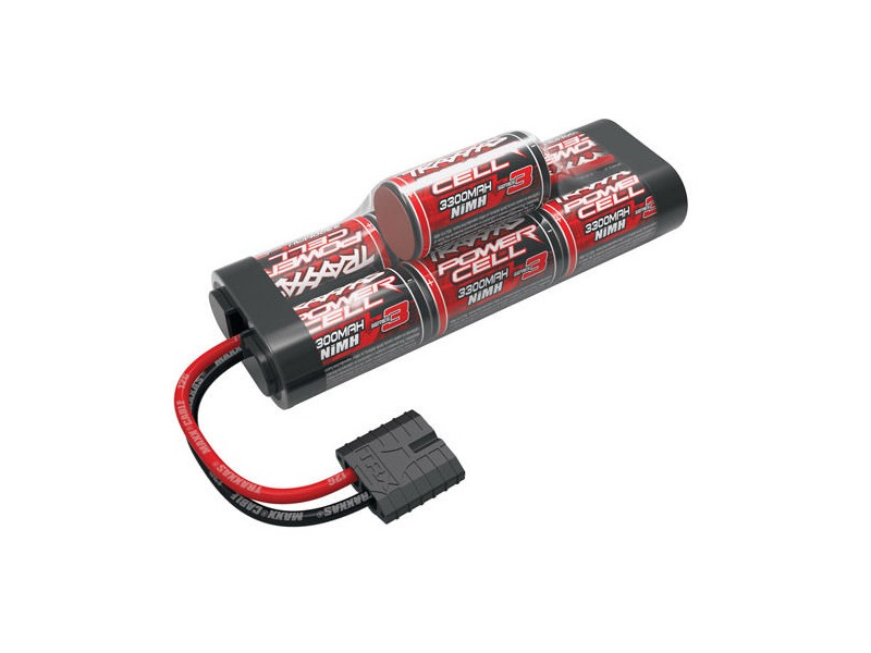 TRAXXAS Battery Series 3 Power Cell ID 3300mAh (NiMH, 8.4V hump) click to zoom image