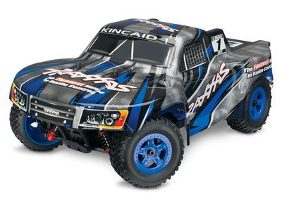 TRAXXAS LaTrax SST 1/18 4WD (2.4GHz/7.2V/DC Chg) 1/18 scale blue  click to zoom image