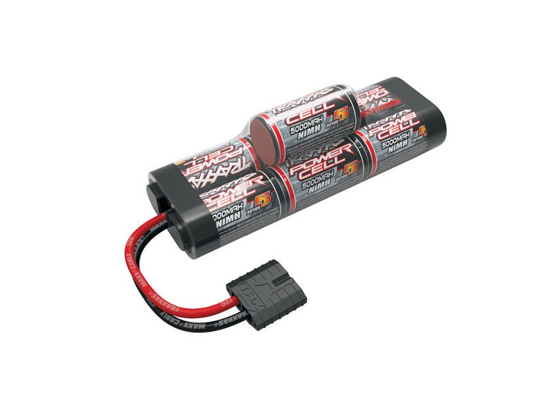 TRAXXAS Series 5 Power Cell ID, 5000mAh (NiMH, 8.4V hump) click to zoom image