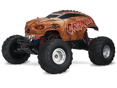 TRAXXAS Craniac 1/10 Monster Truck (TQ/8.4V/DC Chg) 1/10 scale Brown  click to zoom image