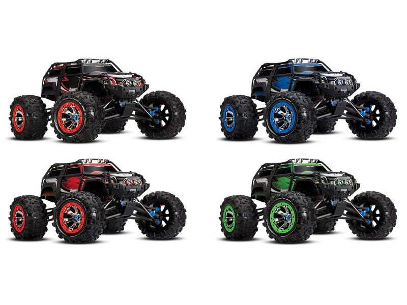TRAXXAS Summit EVX-2 (TQi/No Batt or Chg) click to zoom image