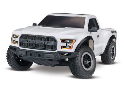 TRAXXAS 2017 Ford F150 Raptor XL-5 2WD (TQ/8.4V/DC Chg) 1/10 scale White  click to zoom image