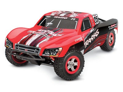 TRAXXAS 1/16 Slash XL2.5 4WD (TQ/7.2V/DC Chg) 1/16 scale Red  click to zoom image