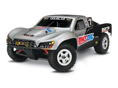 TRAXXAS 1/16 Slash XL2.5 4WD (TQ/7.2V/DC Chg) 1/16 scale Silver  click to zoom image