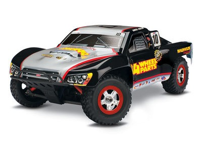 TRAXXAS 1/16 Slash XL2.5 4WD (TQ/7.2V/DC Chg) 1/16 scale Silver/Black  click to zoom image
