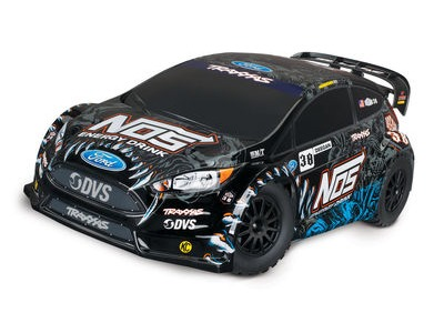 TRAXXAS Ford Fiesta ST 4WD Rally, NOS Deegan 38 (TQ/8.4V/No Charger) click to zoom image
