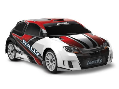 TRAXXAS LaTrax Rally 1/18 4WD (2.4GHz/6.0V/DC Chg) 1/18 scale Red  click to zoom image