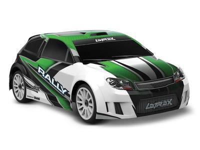 TRAXXAS LaTrax Rally 1/18 4WD (2.4GHz/6.0V/DC Chg) 1/18 scale Green  click to zoom image