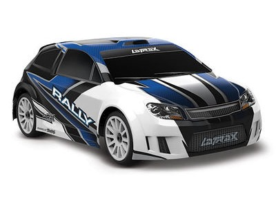 TRAXXAS LaTrax Rally 1/18 4WD (2.4GHz/6.0V/DC Chg) 1/18 scale Blue  click to zoom image