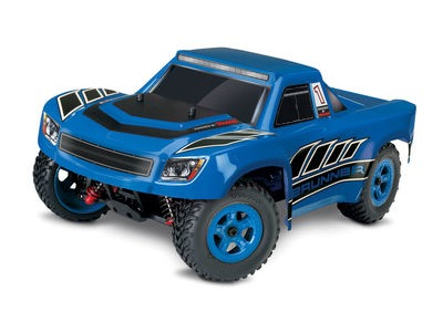 TRAXXAS LaTrax Desert Prerunner 1/18 4WD (2.4GHz/7.2v/DC Chg) 1/18 scale Blue  click to zoom image