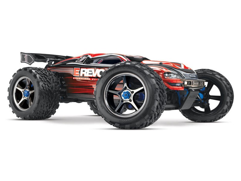 TRAXXAS E-Revo Brushless MXL-6S TSM (TQi/No Batt or Chg) click to zoom image