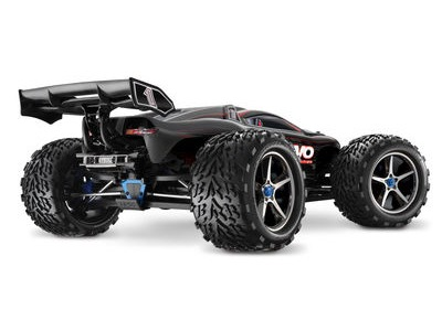 TRAXXAS E-Revo Brushless MXL-6S TSM (TQi/No Batt or Chg) 1/10 scale Blue  click to zoom image