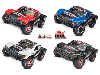 TRAXXAS Slash VXL Brushless 2WD OBA TSM (TQi/No Bat or Chg) click to zoom image