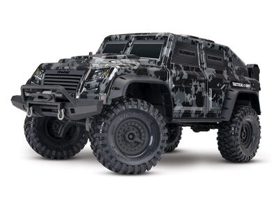 TRAXXAS TRX-4 Crawler Tactical Unit (TQi/No Batt/No Chg)