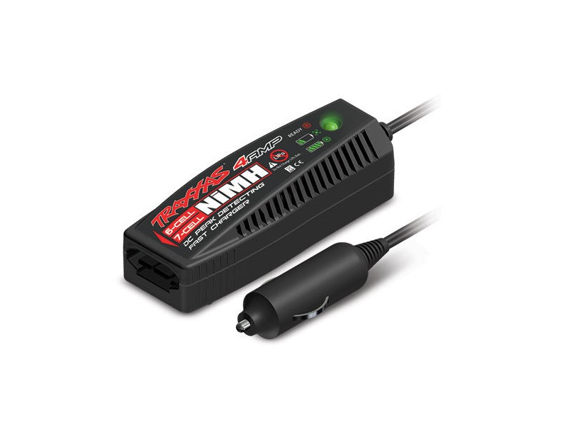 TRAXXAS 4 Amp DC (from a 12V DC car power socket) NiMH Charger click to zoom image