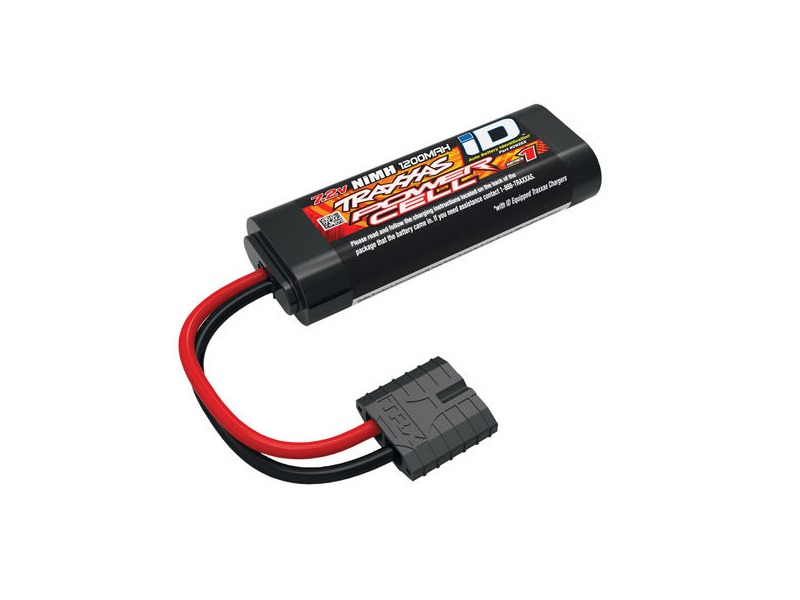 TRAXXAS Battery, Series 1 Power Cell ID, 1200mAh (NiMH, 7.2V flat) click to zoom image