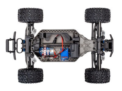 TRAXXAS Rustler 4X4 XL-5, 1/10 Stadium Truck (TQ, No Battery/Charger) click to zoom image