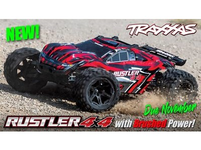 TRAXXAS Rustler 4X4 XL-5, 1/10 Stadium Truck (TQ, No Battery/Charger)