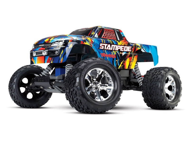 TRAXXAS Stampede XL-5 2WD (TQ/No Batt or Chg) click to zoom image