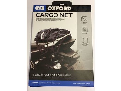 OXFORD PRODUCTS Cargo Net Elasticated Black