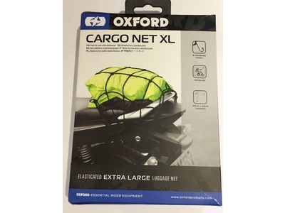 OXFORD PRODUCTS Cargo Net XL Elasticated Black