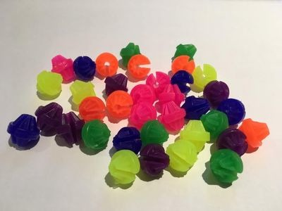 PREMIER Spoke Beads Multicoloured Pack of 36