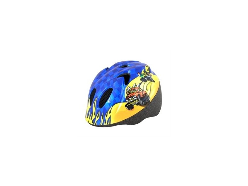 ALPHA PLUS Junior Helmet Monster Truck 44-50cm click to zoom image