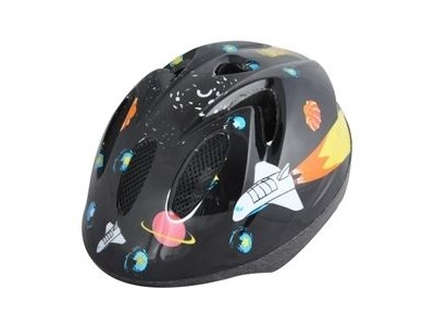 ALPHA PLUS Junior Helmet SpaceShip 52-56cm