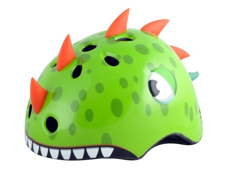 ALPHA PLUS Junior Dinosaur Helmet 50-54cm click to zoom image