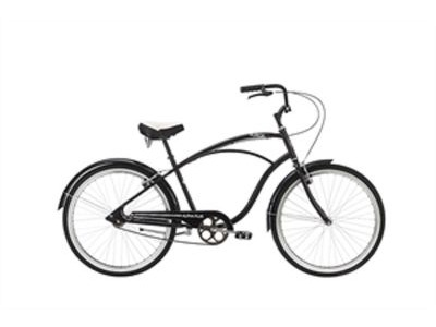 "ALPHA PLUS SURGE MEN 26"" Single Speed 26""wheel 1 speed Black  click to zoom image"