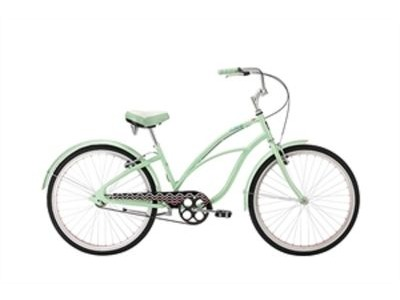 "ALPHA PLUS Surge Women 26"" Single Speed Cruiser 26""wheel 1 speed Green  click to zoom image"