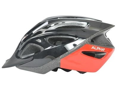 ALPHA PLUS Shadow Cycle Helmet (Size & Colour Options).