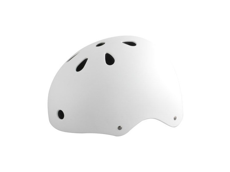 ALPHA PLUS HELMET BMX SOFT WHITE click to zoom image