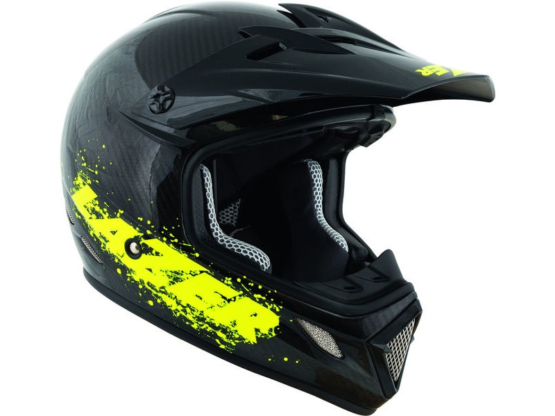 LAZER MX7 Carbon/Flash Yellow click to zoom image