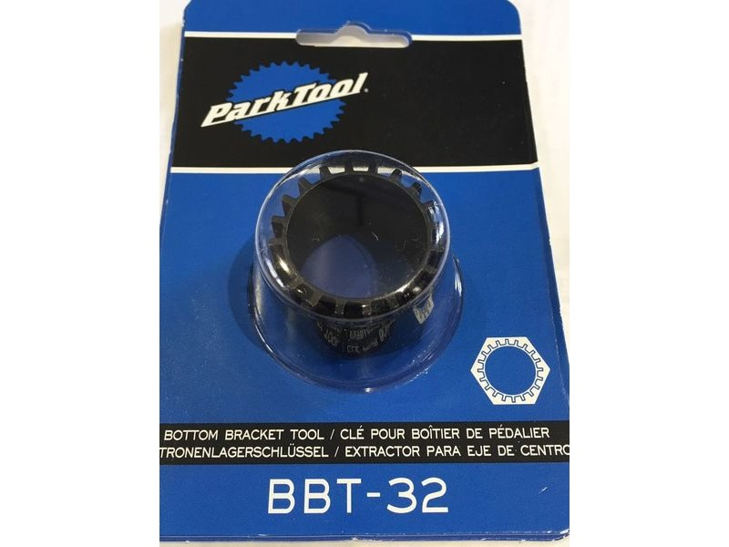 PARK TOOL BBT-32 Compact Bottom Bracket Tool 20-Tooth Splines click to zoom image